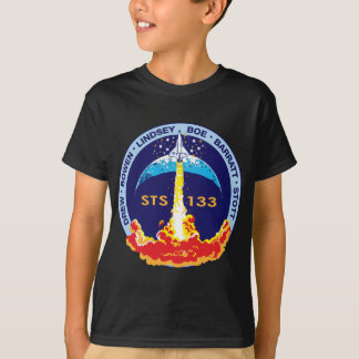 STS-133 mission patch Tshirt