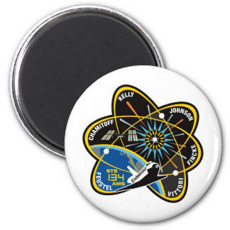 STS 134 Endeavour 6 Cm Round Magnet