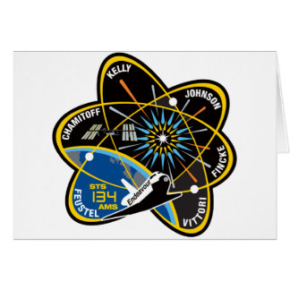 STS 134 Endeavour Greeting Card