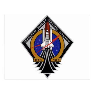STS 135 Last Flight of Atlantis Post Cards