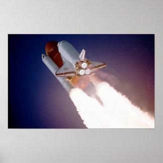 STS-27, Orbiter Atlantis, Liftoff Print