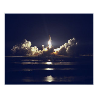 STS-86 Launch Poster
