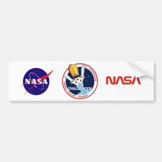 STS-8: Challenger:  1st Night Landing Bumper Sticker