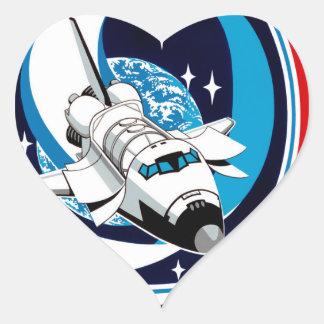 STS 9 Columbia: SKYLAB Heart Sticker