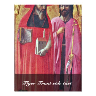 Sts. John The Baptist And Jerome By Masaccio (Best Flyer
