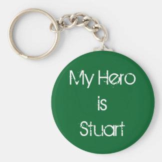 Stuart keychain