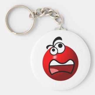 Stuart Redball Basic Round Button Key Ring