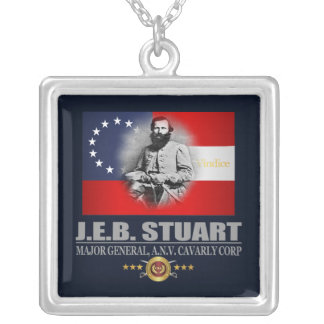 Stuart (Southern Patriot) Silver Plated Necklace