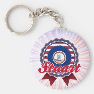 Stuart VA Key Chain