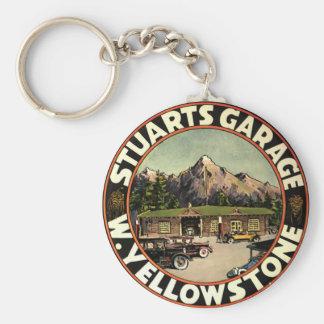 Stuart's Garage Yellowstone Keychain