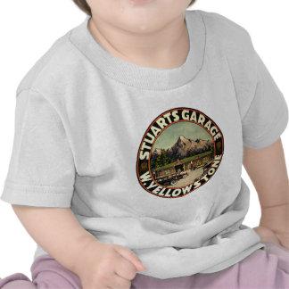 Stuart's Garage Yellowstone T-shirts