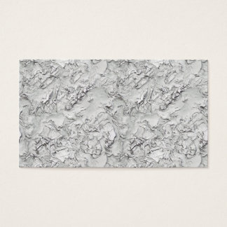 Stucco Pattern Business Card