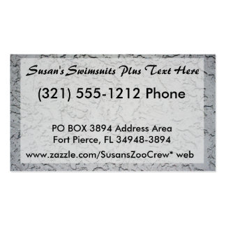 Stucco plaster wall background texture business cards