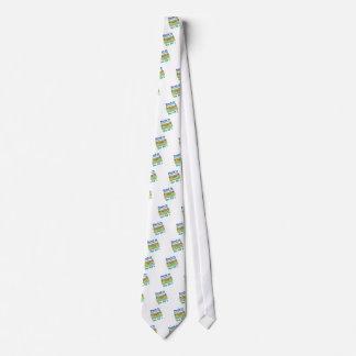 Stuck In 80s Tie