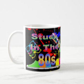 Stuck In The 80s Basic White Mug