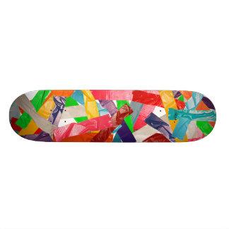 Stuck together skate boards