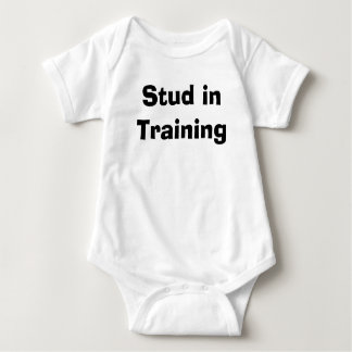 Stud in Training Baby Bodysuit