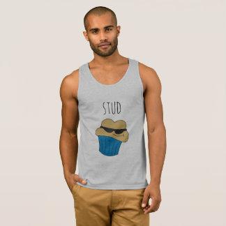 Stud Muffin Blue Men's Tank Top