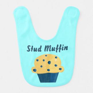 Stud Muffin Blueberry Muffin Baby Bib
