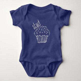 Stud muffin bodysuit, muffin shirt