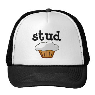 Stud Muffin Cute Funny Baked Good Mesh Hat