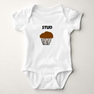 Stud muffin for boys baby bodysuit