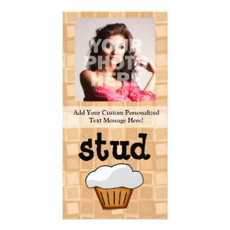 Stud Muffin Photo Greeting Card