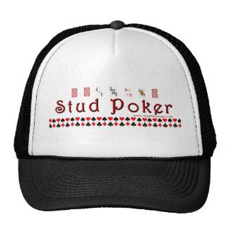 Stud Poker Cap Trucker Hat