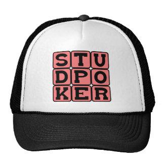 Stud Poker, Gambling Card Game Trucker Hat