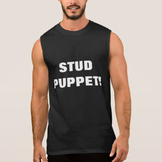 STUD PUPPET! SLEEVELESS SHIRT