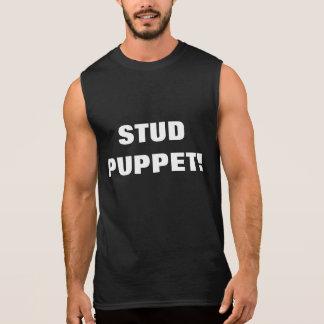 STUD PUPPET! SLEEVELESS SHIRT