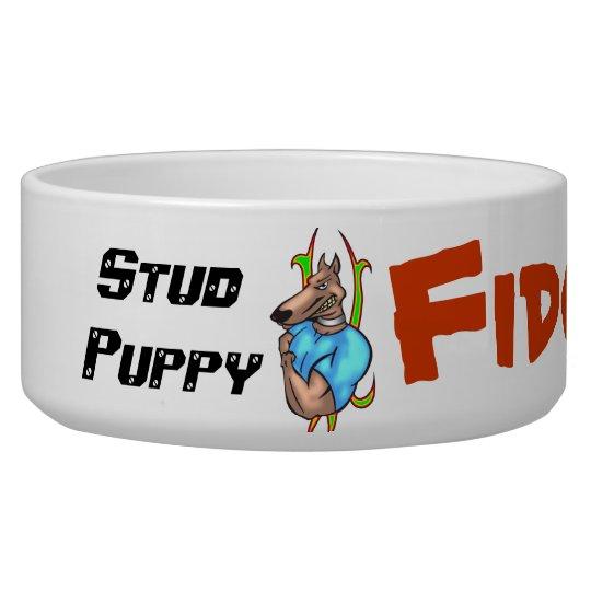 Stud Puppy Customised Dog Bowls