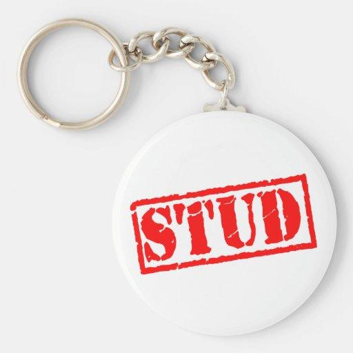 Stud Stamp Key Chains