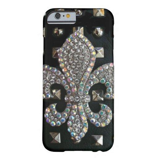 Studded fleur de lis case iPhone 6 case