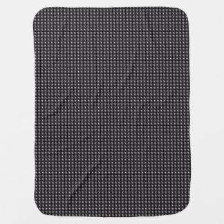 Studded Steel Texture Baby Blanket