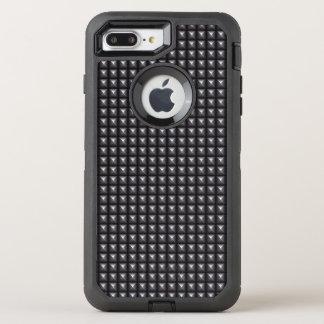 Studded Steel Texture OtterBox Defender iPhone 8 Plus/7 Plus Case