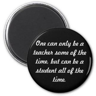 Student 6 Cm Round Magnet