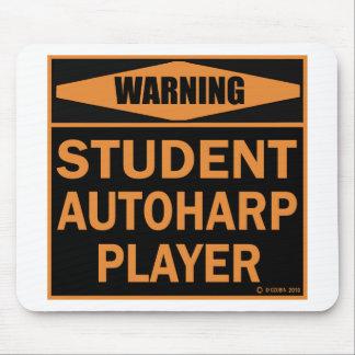 Student Autoharp Player Mousepads