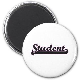 Student Classic Job Design 6 Cm Round Magnet