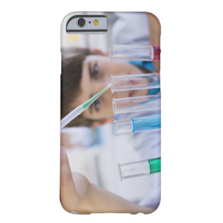 Student doing science experiment 3 barely there iPhone 6 case