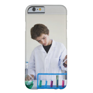 Student doing science experiment 4 barely there iPhone 6 case
