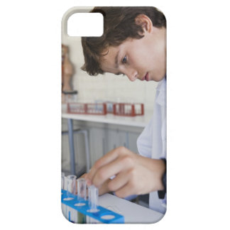 Student doing science experiment case for the iPhone 5