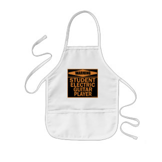 Student Electric Guitar Player Aprons