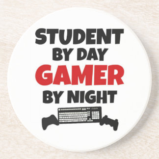 Student Gamer Drink Coasters
