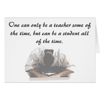 Student Greeting Card