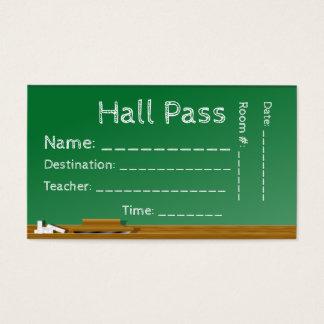 Student Hall Pass Classroom Board