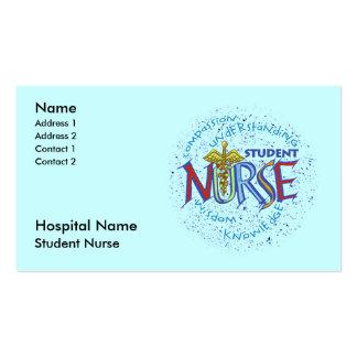 Student Nurse Business Card Template