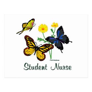 Student Nurse Butterflies Postcards