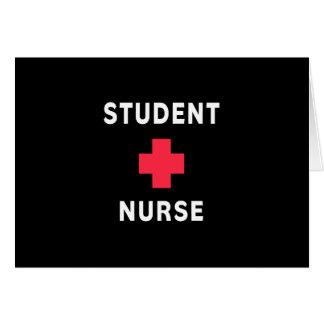 Student Nurse Stationery Note Card