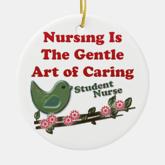 Student Nurse Christmas Ornament